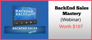 Backend Sales Mastery